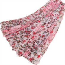 LAVEN pastoral style Bali yarn printing thin section ladies scarf