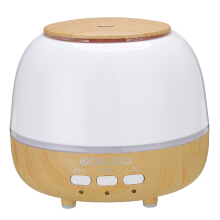Digoo DG-HM1 Pearl Wood Grain Essential Oil Aroma Diffuser Humidifier Anion Air Purifier Color Changing LED -White