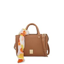 Les Catino New York Brooklyn Satchel M Camel Brown