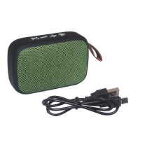 EELIC SPR-G2 Mini Speaker Bluetooth Speaker Radio FM Green