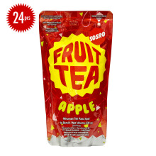 FRUIT TEA Pouch Apple Carton 230ml x 24pcs