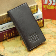 KENESS Korean version of the new men's scrub wallet long wallet fashion wallet men's gentleman wallet