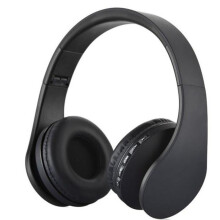 BESSKY Wireless Bluetooth Stereo Headset Earphone Headphone with Micro SD Card FM_