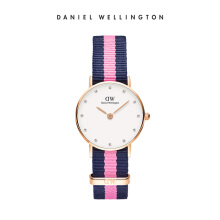 Daniel Wellington Classy Nato Watch Winchester Eggshell White 26mm