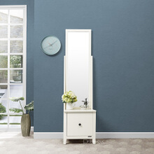 IFURNHOLIC Alyssa Swing Mirror - Furniture Meja Rias Ivory