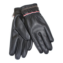 SiYing Simple fashion riding driving non-slip wear-resistant gloves Black