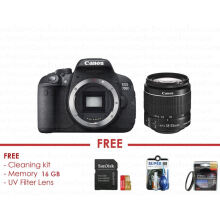 Canon EOS 700D Kit 18-55m IS II - FREE ACCESSORIES