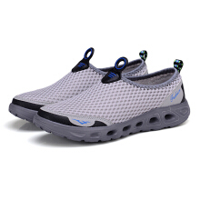 Zanzea Honeycomb Mesh Upstream Casual Athletic Water Shoes Rose 38