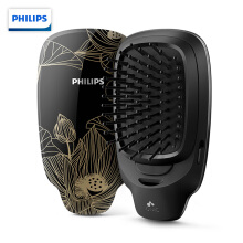 Philips (PHILIPS) comb massage comb negative ion modeling comb hair comb care hair anti-static volume straight dual-use coarse and soft hair HP4722/15 Chinese style gold
