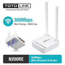 TOTOLINK - Router Wireless N Mini 300Mbps - N200RE