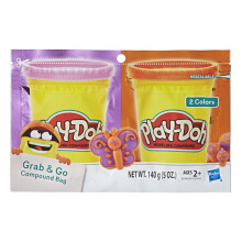 PLAYDOH Grab N Go Compound Bg Purple N Orange PDOE2240