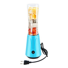 ATWFS Juicer Machine Some Table Fruit Orange Juicer Extractor Household Portable Blender Machine Blue