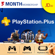 Playstation Plus (ID) 3 Month Membership
