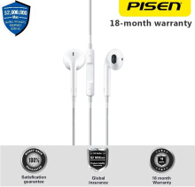 PISEN G203 3.5mm Jack HIFI Stereo Earphone with Mic for Samsung HTC Xiaomi Huawei Sony