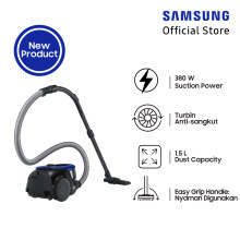 SAMSUNG Canister Vacuum Cleaner VC18M2120SB/SE