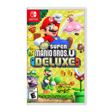 NINTENDO Switch Game - New Super Mario Bros. U Deluxe