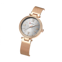 CURREN 9011 Watch Women Casual Fashion Quartz Wristwatches Crystal Design Ladies Gift relogio feminino