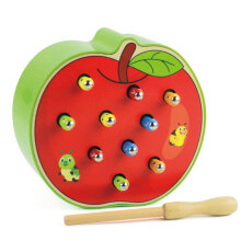 [COZIME] Catch Worm Magnetic Toys For Children Educational Toy Wooden Puzzle Toy Other1