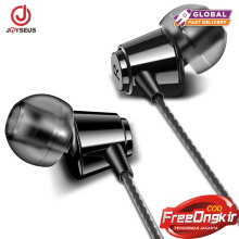 JOYSEUS In-Ear Earphone For iPhone HIFI Stereo Wired Earbuds For Xiaomi Earphones For Computer Bass 3.5mm 1.2M With Microphone