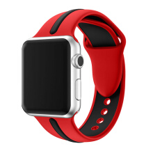 Sport Silicone Strap for Apple Watch iWatch series  4/3/2/1 42mm(44mm)   38mm(40mm)