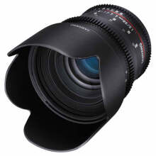 Lensa Samyang 50mm T1.5 VDSLR AS UMC Lens for Canon EF Mount