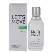 Benetton Let's Move for Men EDT Parfum [100 mL]
