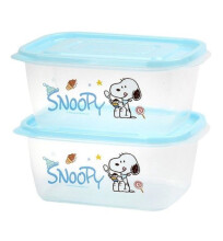 LOCK & LOCK Snoopy Candy E-Z Lock 1320ml LSP805 (isi 2 pcs)