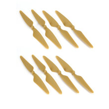 COZIME 4 Pairs Propeller CW/CCW Blade for Hubsan H501S H501C H501A H501M RC Drone Gold