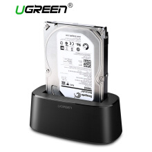 UGREEN HDD Docking Station SATA to USB 3.0 Adapter for 2.5 3.5 HDD SSD External Hard Drive Disk Case Box Enclosure SSD Adapter