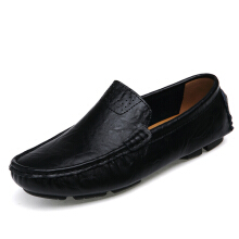 Zanzea 0051US Size 6.5-12 Men Flat Casual Outdoor Leather Soft Comfortable Flats Loafers Shoes Blue