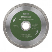 BOSCH Diamond Wheel for Ceramic Best 4 inch 704