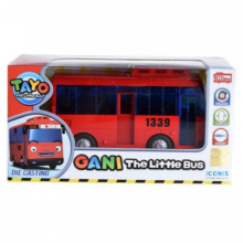 Tayo The Little Bus Diecast Gani Pull Back Original Red - Iconix