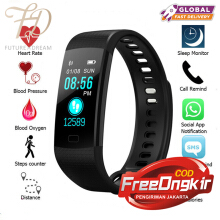 PEKY Y5 Smart Bracelet Color Screen Fitness Tracker Blood Pressure Pulsometer Waterproof
