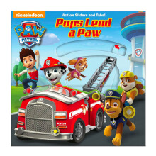 Paw Patrol: Pups Lend A Paw (Paw Patrol - Action Sliders And Tabs!) Import Book -  - 9780794435851