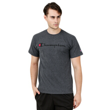 CHAMPION Mens' Jersey SS Tee - Script - Charcoal Heather [M] AVWMTSWTAW17/000GT280CCH