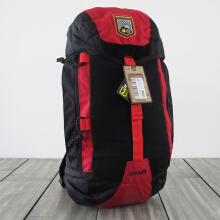 MAHAMERU Loka25 Black-Red Merah All Size