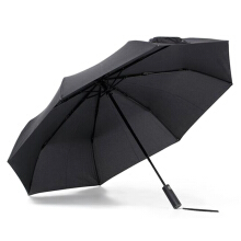Sunlightshading Heatinsulating AntiUV Umbrella for Sunny and Rainy Days   Black