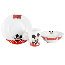 BRILIANT Mickey Mouse Breakfast Set of 3 GMC2423