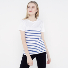 FBW Carly Striped Female T-shirt - Putih