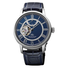 Orient Star RE-HH0002L Mechanical Men Blue Dial Blue Leather Strap [RE-HH0002L]
