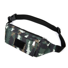 [COZIME] Outdoor Sports Waist Bag Travel Running Fitness Waist Bag Anti-theft Bag Marsh Digital1