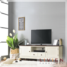 LIVIEN FURNITURE - Lemari Rak Meja TV MELODY