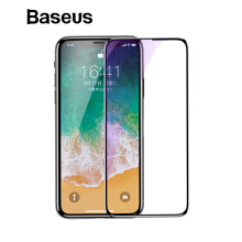Baseus 0.2mm Ultra Thin 3D Surface Full Screen Protector for iPhone X Front Protective Tempered Glass