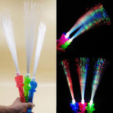 Farfi 41cm Fluorescent Sword Glow Stick Light Wand Party Concert Night Club Supply Random Color