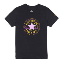 CONVERSE  Galaxy Chuck Patch Crew Tee - Black