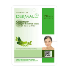 Dermal Cucumber Collagen Essence Mask 10pc