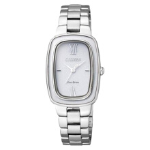 Citizen EM0005-56A Women Eco-Drive White Dial Stainless Steel [EM0005-56A]