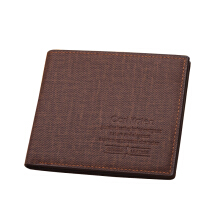 Cari Kaien Business Casual Soft Leather Short Men's Wearable Wallet