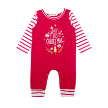 [COZIME] Cute Christmas Printed Baby Romper Comfortable Long Sleeve Infant Jumpsuit
