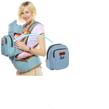 AOSEN 0-30 months baby carrier with multifunctional infant kangaroo bag